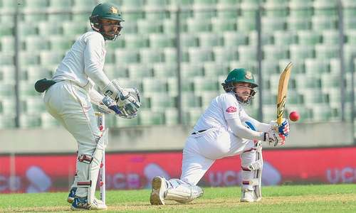 Mominul, Mushfiqur give Bangladesh early control in final Zimbabwe Test