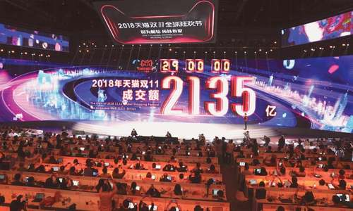 Alibaba Singles' Day smashes $25bn sales record