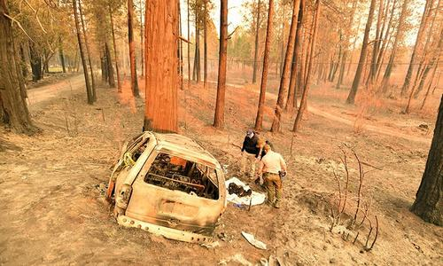 Death toll rises to 25 as California grapples with worst wildfires in its history