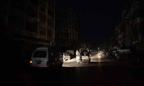 Karachi experiences yet another power breakdown; restoration efforts underway