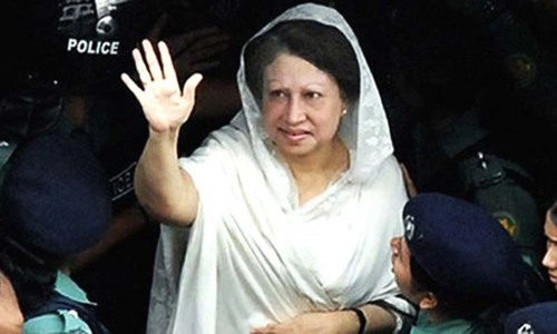 Khaleda Zia's party to challenge Hasina in election