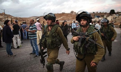 غزہ: اسرائیلی فوج کا زمینی آپریشن 6 فلسطینی جاں بحق