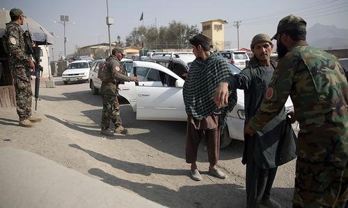 کابل میں خود کش حملے کے نتیجے میں 6افراد ہلاک