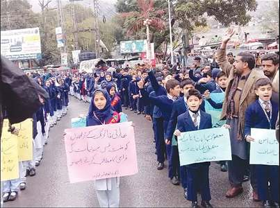 Kashmiris hold rally against Indian shelling in Leepa Valley