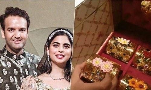 ساڑھے 5 لاکھ روپے کا انوکھا شادی کارڈ