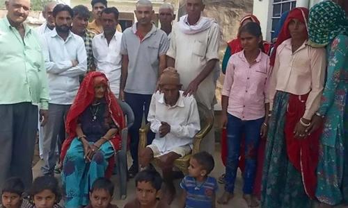 بھارت: 95 سالہ 'مردہ' اچانک زندہ ہوگیا