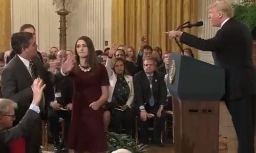 صحافی کے داخلے پر پابندی، سی این این کا امریکی صدر پر مقدمہ
