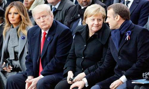 Days after visit, Trump blasts Macron as relations sour