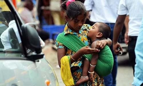 سندھ بھر میں بچوں کی گداگری پر پابندی