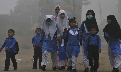 کراچی میں غیر معمولی اسموگ کا راج