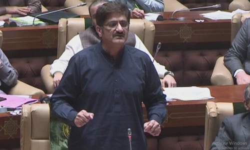 Police officers were tasked to 'break PPP people' by Sindh caretaker govt, claims CM Shah