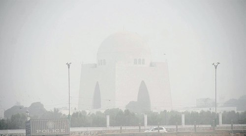 City faces smog-like conditions