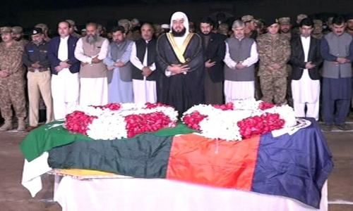 Afghan officials hand over SP Dawar's body to Pakistani delegation; funeral held in Peshawar