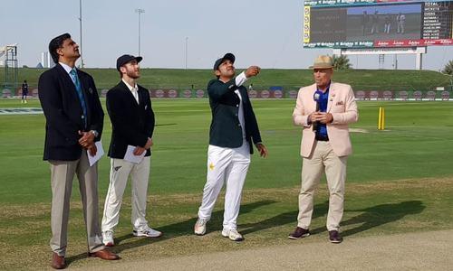 پہلا ٹیسٹ: نیوزی لینڈ کا ٹاس جیت کر پاکستان کے خلاف بیٹنگ کا آغاز