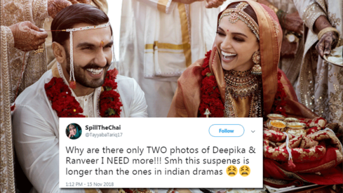 There are only two DeepVeer wedding photos so far and fans want more