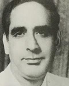 احمد پرویز نوجوانی کے دور میں.