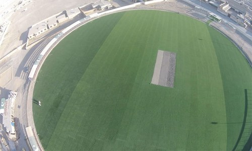 پاکستان کے پہلے آسٹرو ٹرف کرکٹ اسٹیڈیم کا افتتاح کردیا گیا