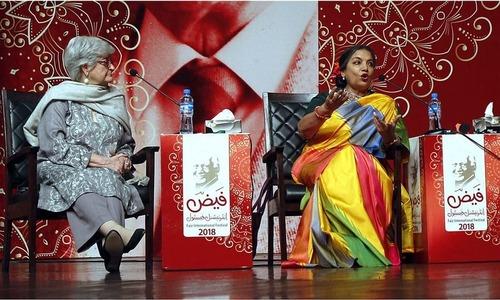 فیض فیسٹول: بھارتی شاعر جاوید اختر، اداکارہ شبانہ اعظمی کی لاہور آمد