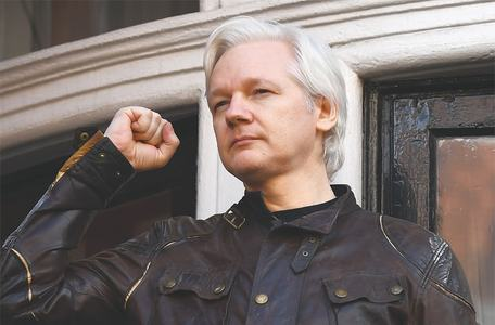 Assange charged in US, says WikiLeaks