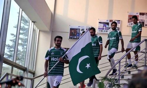 ہاکی ورلڈ کپ کیلئے پاکستانی ٹیم کی کٹ کی تقریب رونمائی