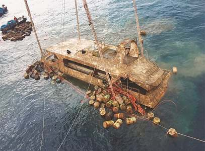 Thailand recovers boat that sank in July, killing 47 Chinese