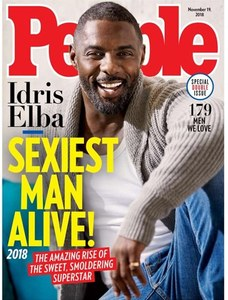 WIDE ANGLE: IDRIS IS EYE CANDY