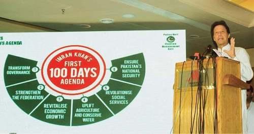 حکومت قانون سازی کے بغیر اپنے ابتدائی 100 روز مکمل کرنے کے قریب