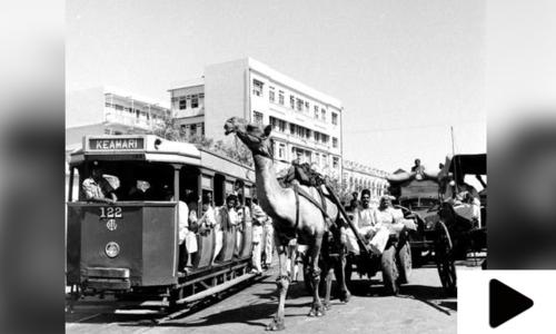 کراچی میں قدیم ٹرام سروس چلانے کا حکم