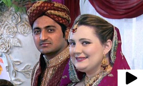 محبت میں گرفتار 19 سالہ امریکی لڑکی کی پاکستانی نوجوان سے شادی