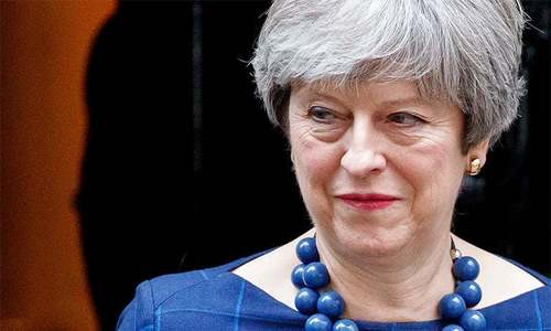 British PM says her removal might affect Brexit negotiations