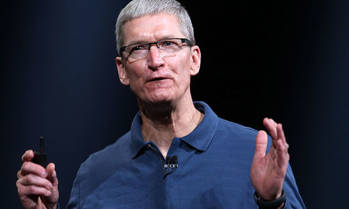 New tech regulation 'inevitable', Apple CEO says