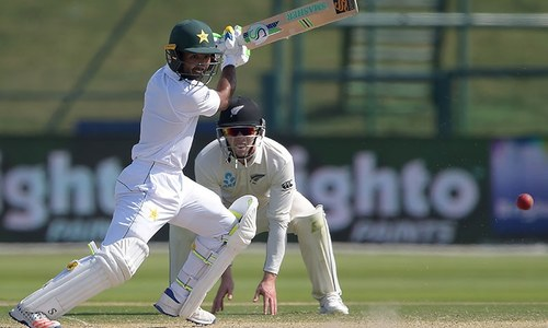 Shafiq chalks up 4,000 runs as Pakistan eyes victory in first Test against New Zealand