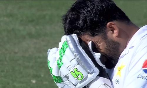 ابو ظہبی ٹیسٹ: پاکستان کو سنسنی خیزمقابلے کے بعد 4 رنز سے شکست
