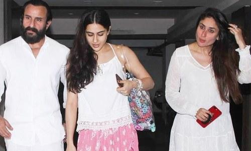 کرینہ کپور نے اپنی سوتیلی بیٹی کے بارے میں خیالات کا اظہار