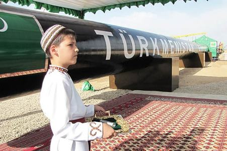 TAPI inspires China to launch a similar pipeline project