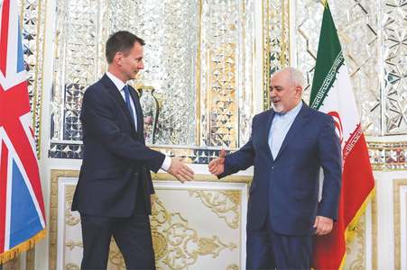 British foreign minister visits Iran for talks on N-deal
