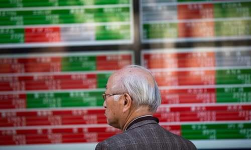 Asia tech stocks dive while Ghosn arrest slams Nissan, Mitsubishi
