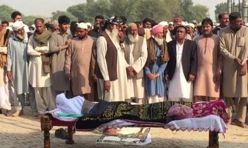 چین میں 'خودکشی' کرنے والے پاکستانی طالب علم کی تدفین