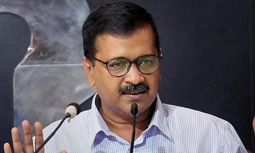 بھارت: نئی دہلی کے وزیر اعلیٰ پر مرچ پاؤڈر سے حملہ