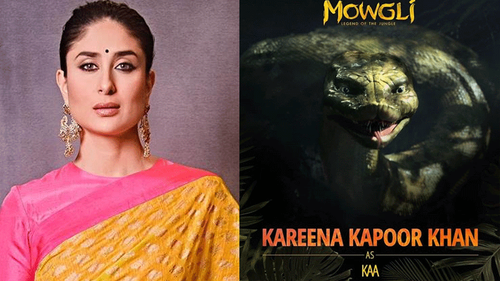 Kareena Kapoor, Madhuri Dixit and more cast for Mowgli's Hindi version