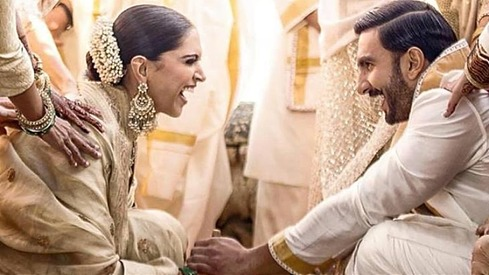 Just 15 beautiful photos from Deepika Padukone and Ranveer Singh's Lake Como wedding