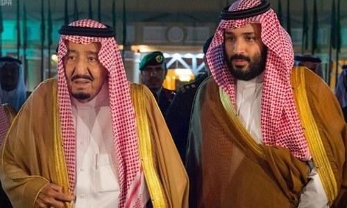 سعودی فرماں روا پر محمد بن سلمان کو ہٹانے کیلئے شہزادوں کا دباؤ