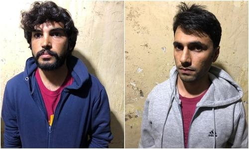 Two QAU students arrested for peddling drugs on campus