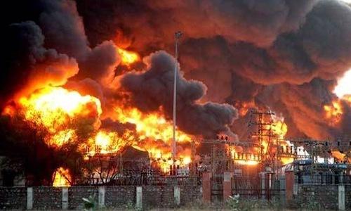 بھارت کے مرکزی اسلحہ ڈپو میں دھماکا، 6 افراد ہلاک