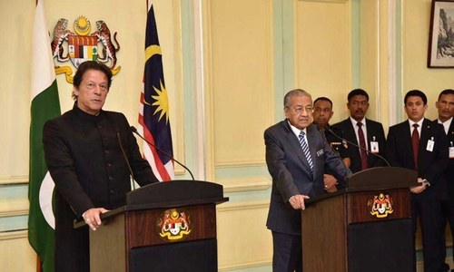 'اسلام آباد، ملائیشیا کے تجربے سے استفادہ کرنے کا خواہشمند'