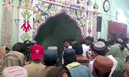 Several injured in blast at mosque in Balochistan's Chaman