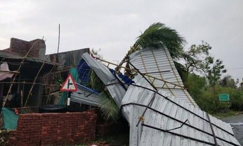 بھارت: طوفان کے دوران'ماہواری'کی وجہ سے الگ رہنے پر مجبور لڑکی ہلاک