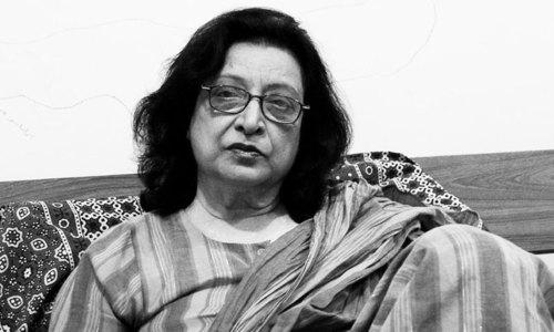 Literature prizewinners Fahmida Riaz and Imdad Hussaini feted