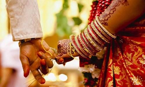 بھارت: دُلہے نے گولی لگنے کے باوجود شادی نہ چھوڑی
