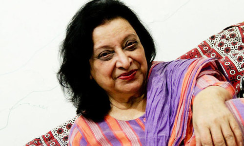 Writer Fahmida Riaz mourned by admirers
